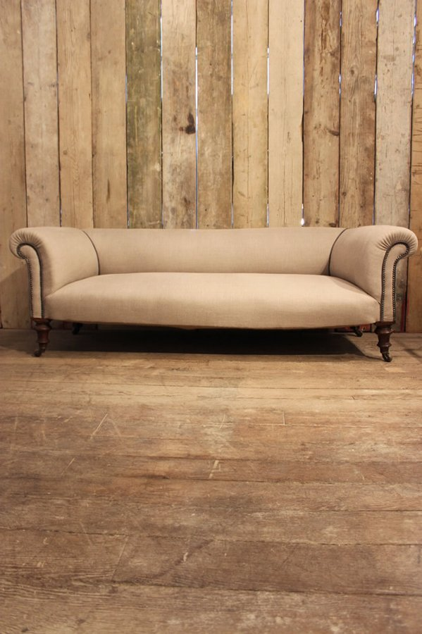 19th Cent English Country House Sofa