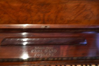upright piano from carl maind