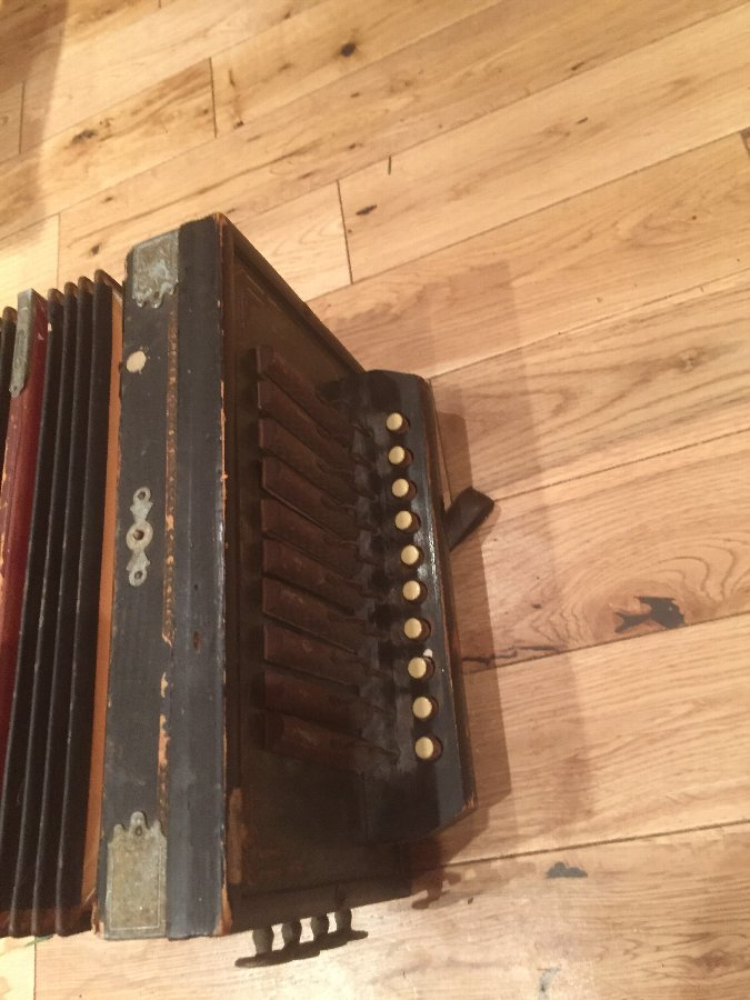 Antique Antique German accordion