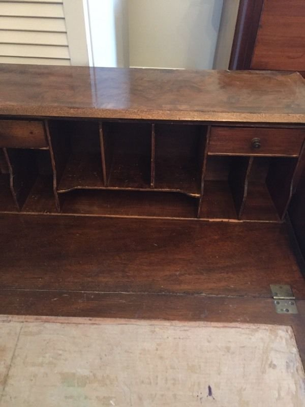 Antique victorian style folding table