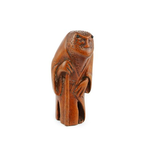 Antique Netsuke, Toad / Frog , Meiji Period