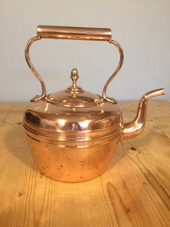 Antique A Victorian Copper Kettle
