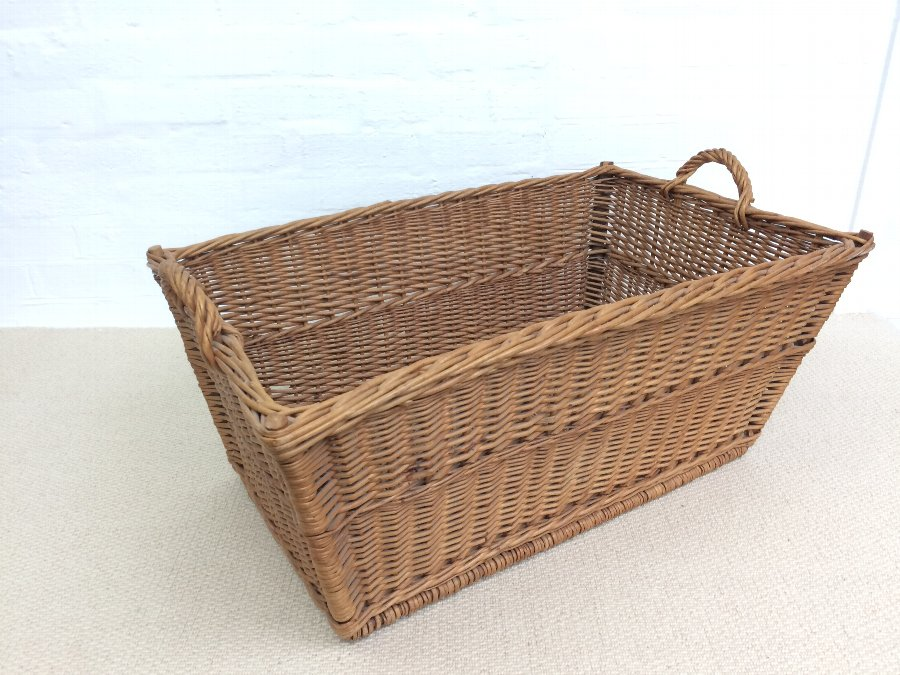 A Large Wicker Basket