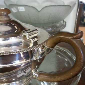 Antique Teapot Sterling Silver by Charles & Richard Comyns Hallmarked 1925