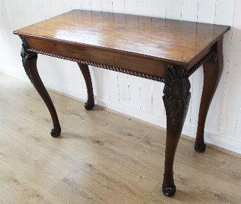 Antique Antique Georgian Mahogany Console / Silver Table. Sideboard / Buffet. Periodmanorantiques