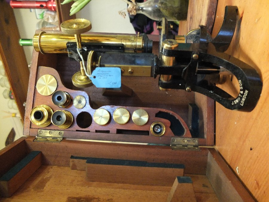 J Swift & Son Petrological Microscope