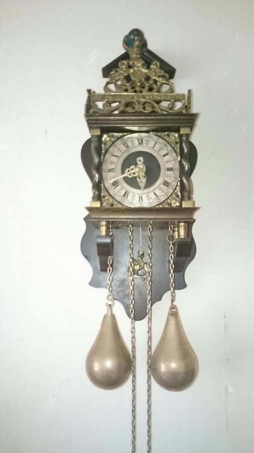 German antique clock