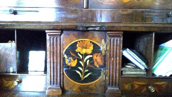 Antique DESK MARQUETRY S.XVIII
