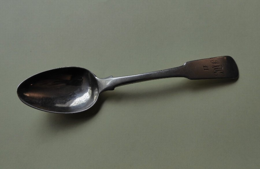 Antique Teaspoon by RN Inverness Robert Naughton c. 1813-1857