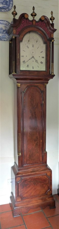 Antique 19th Cent Domestic Regulator with Musical Movement