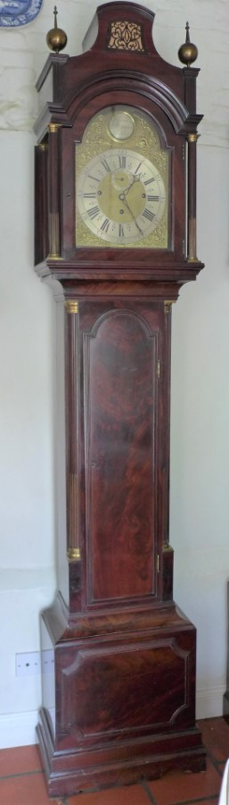 19th Cent Musical Longcase Clock