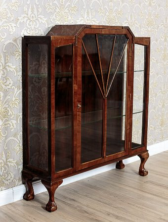 Antique A Signed Showcase, Circa 1920