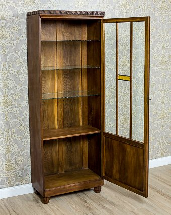 Antique Bookcase from the Interwar Period