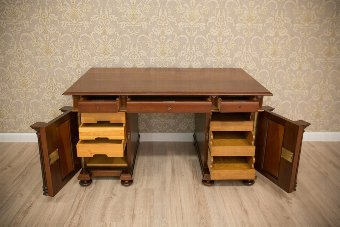 Antique Noteworthy Desk, Circa 1920, AFTER RENOVATION