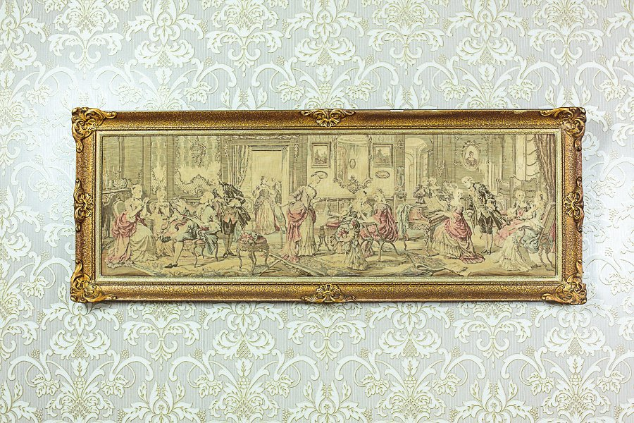 Tapestry with a Genre Scene