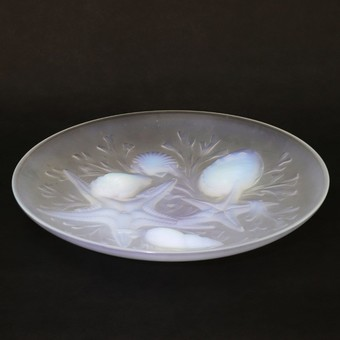 Antique Art Deco French Opalescent