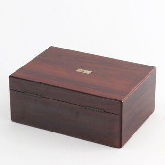 Antique Victorian Fitted Rosewood Sewing Box with Extensive Period Contents c1895