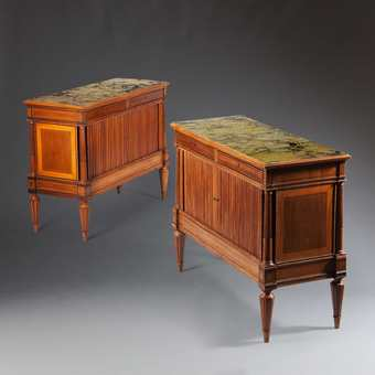 Antique A Fine Pair Of Italian Neo Classical Cabinets