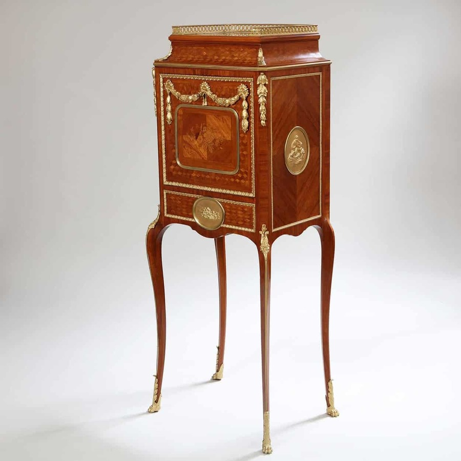 Napoleon III Fall Front Secretaire Cabinet