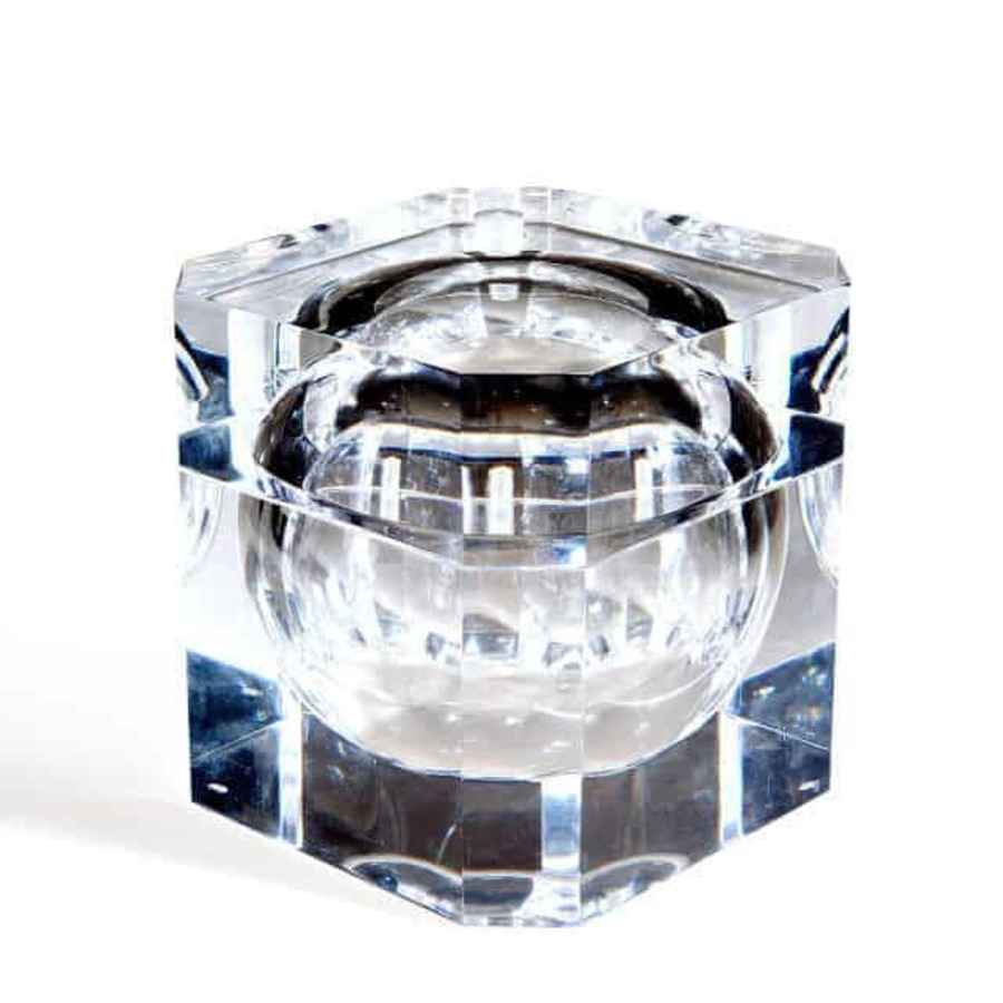 1980'S Perspex Sliding Ice Bucket