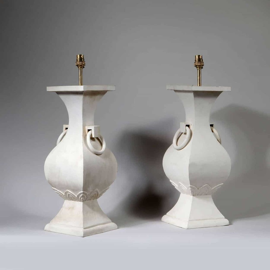A Pair of Classical Chinese Vases as Lamps