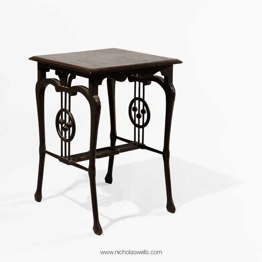 Indian Art Nouveau Music Room Table - Calcutta School
