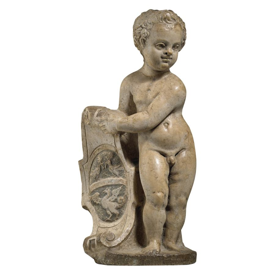 Istrian Marble Putto 16th / 17th Century