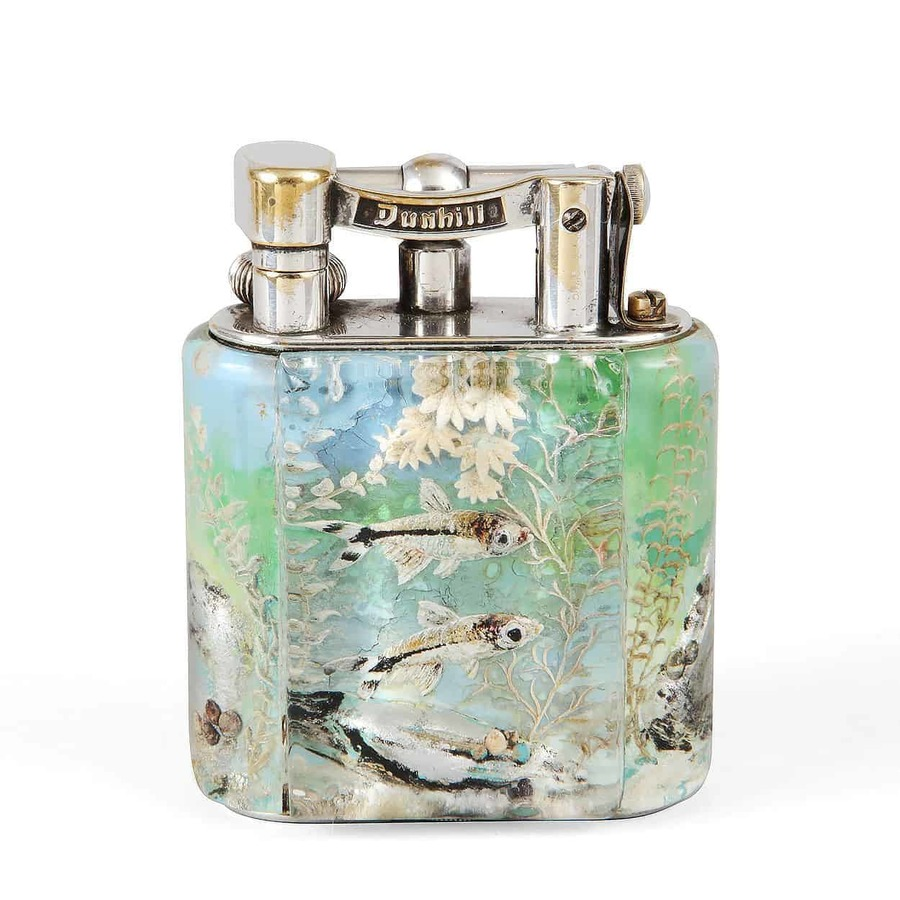 Service Size DUNHILL Aquarium Lighter