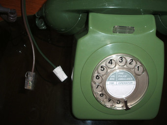 Antique 70's retro original GPO telephone