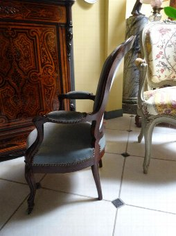 Antique CHILD'S ARMCHAIR