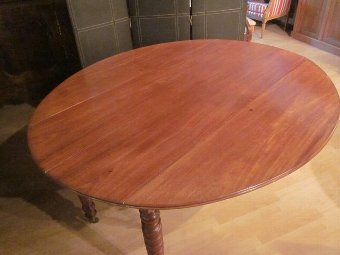 Antique FRENCH DINING ROOM TABLE