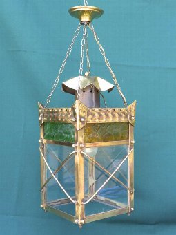 Antique ARTS AND CRAFTS LANTERN