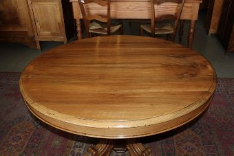 Antique OVAL EXTENDING TABLE