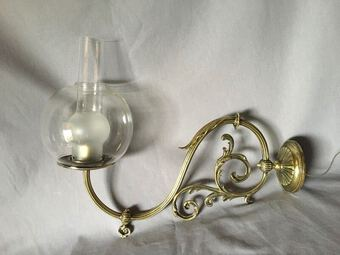 Antique 19th C PAIR OF SCONCES