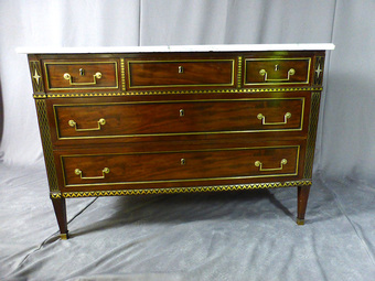 Antique FRENCH DIRECTOIRE PERIOD CHEST OF DRAWERS