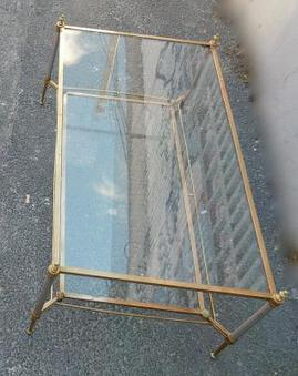 Antique 1950/70 'Maison Jansen Coffee Table 113 x 64 cm