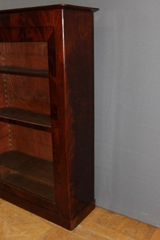 Antique Mahogany Showcase XIX