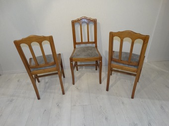 Antique FRENCH RESTAURATION STYLE CHAIRS