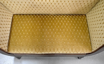 Antique FRENCH RESTAURATION PERIOD CHAISE LONGUE