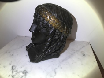 Antique HEAD OF AN ATHENIAN