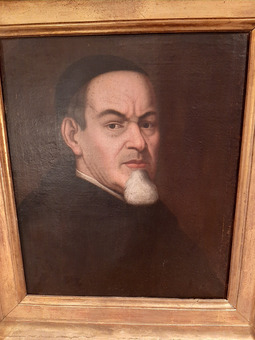 Antique 18th CENTURY FRENCH PORTRAIT