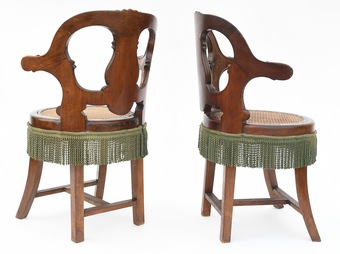Antique PAIR OF FRENCH CHAIRS