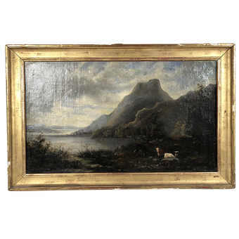 Antique 19th CENTURY FRENCH SCHOOL PAINTING