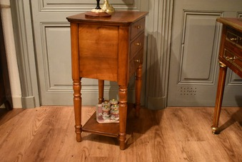 Antique LOUIS PHILIPPE PERIOD CHIFFONNIERE TABLE