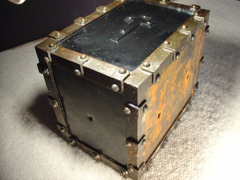Antique 17th century steel Box