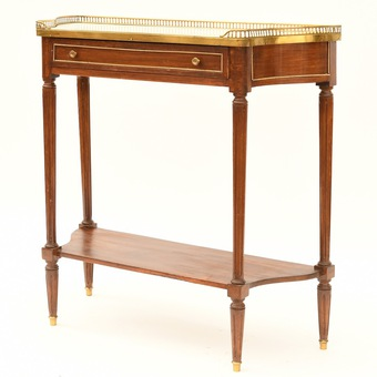 Antique LOUIS XVI STYLE CONSOLE TABLE