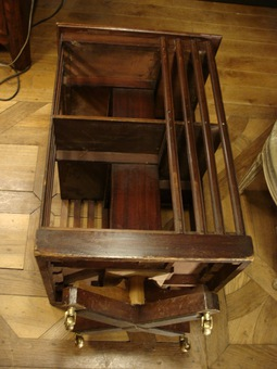 Antique 19th Century Mahogany Revolving Bookcase