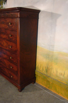 Antique FRENCH RESTAURATION PERIOD CHEST OF DRAWERS