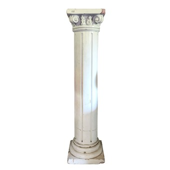 Antique A Terracotta column 20th
