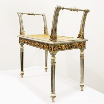 Antique A Louis XVI style bench